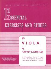 Essential Exercises and Etudes for Viola String Method NEW 004472780
