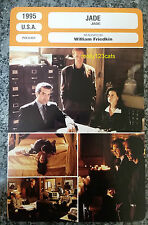 US William Friedkin Erotic Thriller Jade David Caruso French Film Trade Card