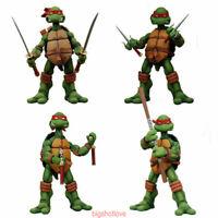 4 PCS NECA Teenage Mutant Ninja Turtles TMNT 15cm Action IN BOX Limit STOCK