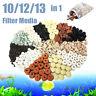 10/12/13 in 1 Bag Aquarium Fish Tank Pond Ring Bio Ball Biological Filter