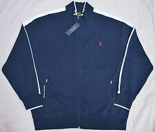 New 3XLT 3XL TALL 3XT POLO RALPH LAUREN Men's track Jacket Navy blue sports suit