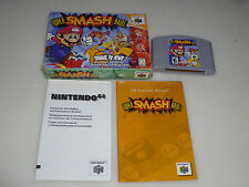 BOXED NINTENDO 64 N64 GAME SUPER SMASH BROS COMPLETE W BOX & MANUAL