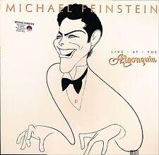 MICHAEL FEINSTEIN LIVE AT THE ALGONQUIN Elektra  60743 LP PROMO SEALED