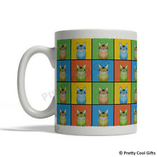 Somali Cat Mug - Cartoon Pop-Art Coffee Tea Cup 11oz Ceramic