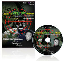 NEW DVD Rich Dad Shooting The Sacred Cows of Money Robert Kiyosaki
