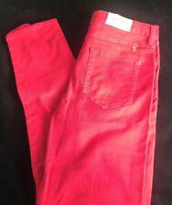 "BNWT Farah Vintage Framboise Slim Tapered Pantalon Chino W 30"" L 32 ~ ""Save £ £ s"
