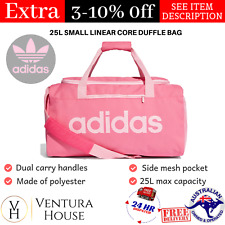 00b0be9b3 Pink Adidas Duffle Bag Padded Shoulder Pads Gym Bags for Women Sports  Travel Bag