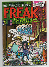 THE COLLECTED FREAK BROTHERS  1  1980  RIP OFF PRESS   FABULOUS FURRY ADVENTURES