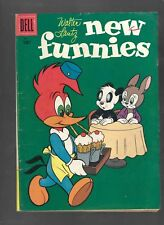 NEW FUNNIES #231 - WOODY WOODPECKER, YOUR FIRED! - (6.0) 1956