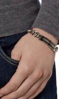 Bnwb.Swarovski Men's DIAGONAL bracelet.20.5cm.£149