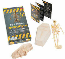 HUMAN SKELETON EXCAVATION KIT Dig and Discover Science Fun Educational Toy NEW!