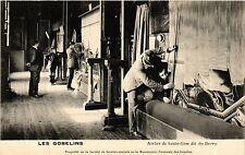 CPA Paris 13e Paris-Les Gobelins-Atelier de haute-lisse dit du Berry (311282)