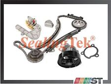Fit 02-06 Nissan QR25DE 2.5L Engine Timing Chain Kit with Water Pump set combo