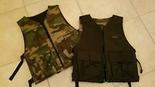 Nwot 2 Gen X Global GxG Reversible Chest Protector Pod Pack Vest - Digi Camo