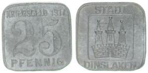 Dinslaken 25 Pfennig 1917 ss-vz 59798