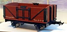 New Accucraft 16mm Scale SM32 45 G L&B Wagon for Roundhouse Live Steam boxed