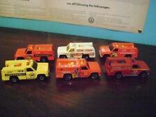 Hot Wheels Rescue Ranger 6 Truck Loose Lot Variations Hong Kong VHTF Rare
