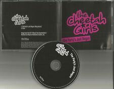 Raven Symone CHEETAH GIRLS Party's Just begun w/ RARE REMIX PROMO DJ CD Single