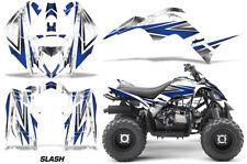 Graphics Kit Decal Sticker Wrap For Yamaha Raptor 90 YFM90 2016-2018 SLASH BLUE