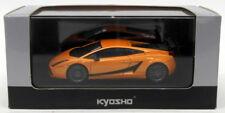 Kyosho 1/43 Scale Model Car 03751P - Lamborghini Gallardo Superleggera - Orange