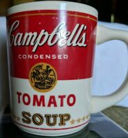 Vintage Campbells condensed tomato soup mug made in USA
