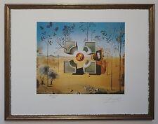 """Salvador Dali Sand Titre """"Cube"""" Lithograph Limited 2000 pcs."""