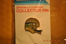 SEATTLE SEAHAWKS -- HELMET COLLECTOR PIN - VINTAGE 1984 OLD STYLE FACE MASK