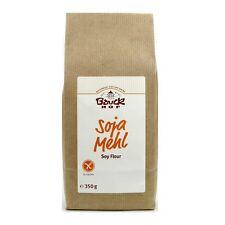(7,97/kg) Bauckhof Soja Mehl Soy Flour glutenfrei gluten free vegan bio 350 g