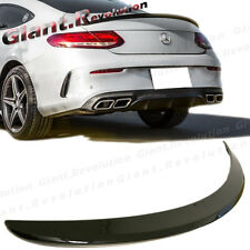 Fit On 2016+ C205 C-Class C250 C350 US Type COATED COLOR Rear Trunk Spoiler Wing