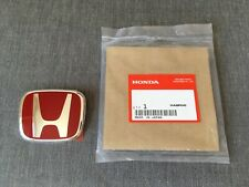 Honda Genuine Red Rear Emblem Badge for Civic Type R
