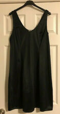 Vintage French Maid Black Full Slip Size 42 Made in Canada