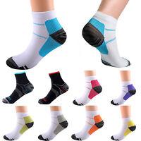 Unisex Men Women Compression Socks Arch Ankle Support Stretchy Plantar Fasciitis