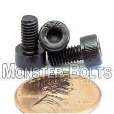 4mm x 0.70 x 8mm - Qty 10 - SOCKET HEAD CAP Screws 12.9 Alloy Steel Black Ox M4
