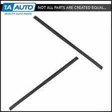 Door Mounted Weather Strip Pair Lower Rear Driver & Passenger Sides for Ford