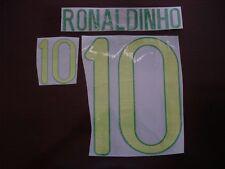RARE! RONALDINHO #10 Brazil Home 2012-13 PU PRINT