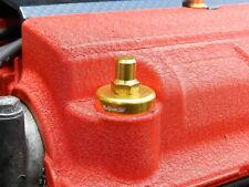 VMS RACING BILLET ALUMINUM GOLD D15 SOHC VALVE COVER WASHER & SEAL NUT BOLT KIT