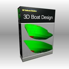 Boat Ship Hull Marine Design 3D Modelling CAD Software Computer Program