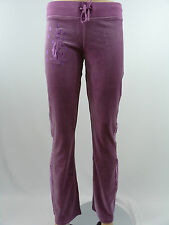 Christian Audigier Women's Velour Lounge Pants Lavender style 0082P Size S