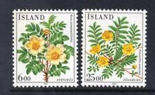 ICELAND MNH 1984 SG641-642 FLOWERS