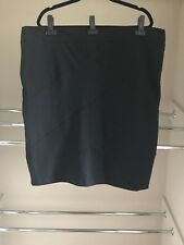 TS14+ Ladies PLUS size L (20-22) BLACK Confine Skirt *BNWT