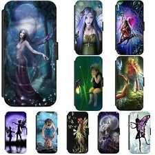 Fairy Fairies Pixie Fairytale Girly Flip Phone Case Wallet Cover iPhone Samsung