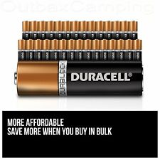 40 X Duracell Energizer AA AAA Batteries New Genuine Alkaline Power