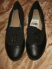 TU WOMANS BLACK LOAFER STYLE SHOES SIZE 5 BNWT!!