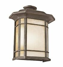 "Trans Globe Lighting 5822-1 BK Outdoor San Miguel 14.75"" Pocket Lantern, Black"