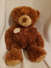 "Hallmark Teddy pairs brown bear with tag 14"" retired lovey"