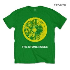 Official T Shirt The Stone Roses Classic Green LOGO Lemon All Sizes