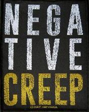 NIRVANA PATCH / AUFNÄHER # 25 NEGATIVE CREEP