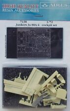 Aires 1/72 Junkers Ju88A-4 cabina Set para Italeri Kits # 7138