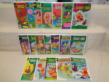 Winnie the Pooh 1-18 (miss.#4) SET 1977-1980 Gold Key Whitman Comics (s 7742)