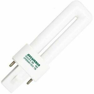 Sylvania 21278 / 20303 CF5DS/841/ECO CFL 5W T4 Single 2-Pin G23 4100k Cool White